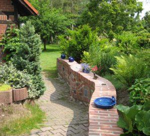 Landhaus Heidi - im Garten